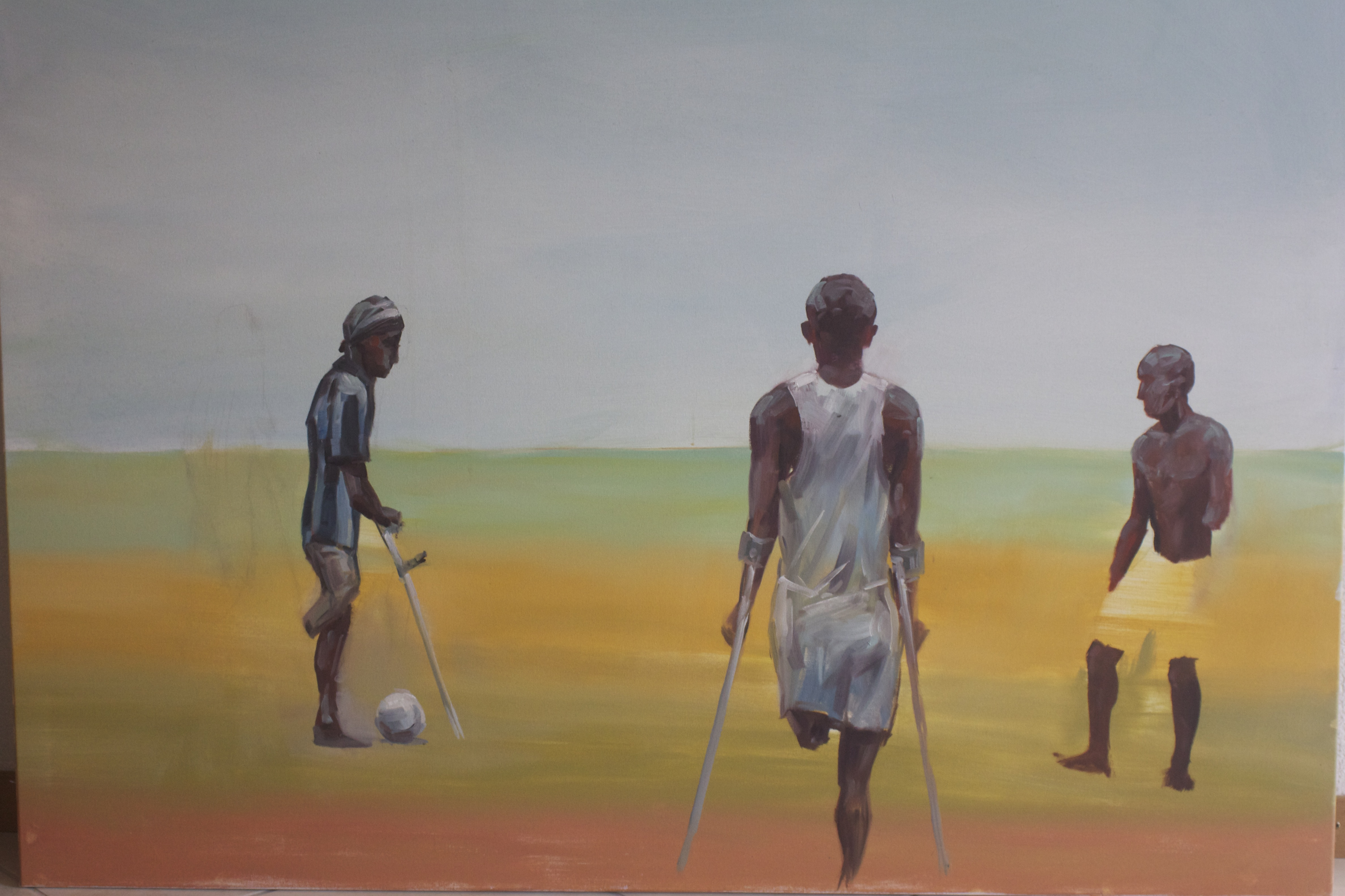 Poetic Painting Sierra Leone Sport Club